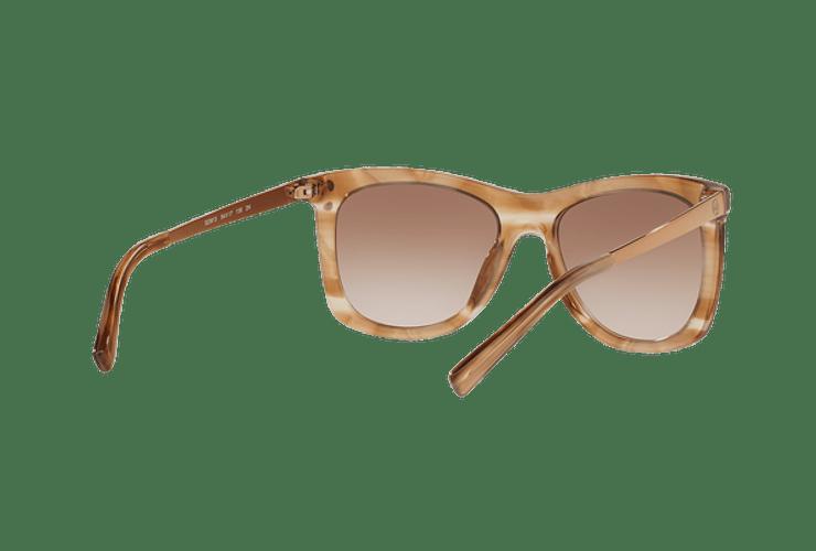 Michael Kors Lex Brown floral lente Brown peach gradient cod. MK2046 323913 54 - Image 7