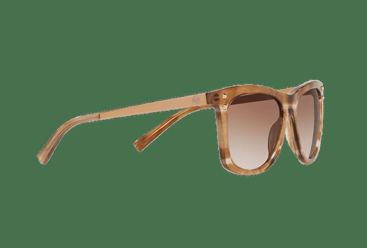 Michael Kors Lex Brown floral lente Brown peach gradient cod. MK2046 323913 54 - Image 10