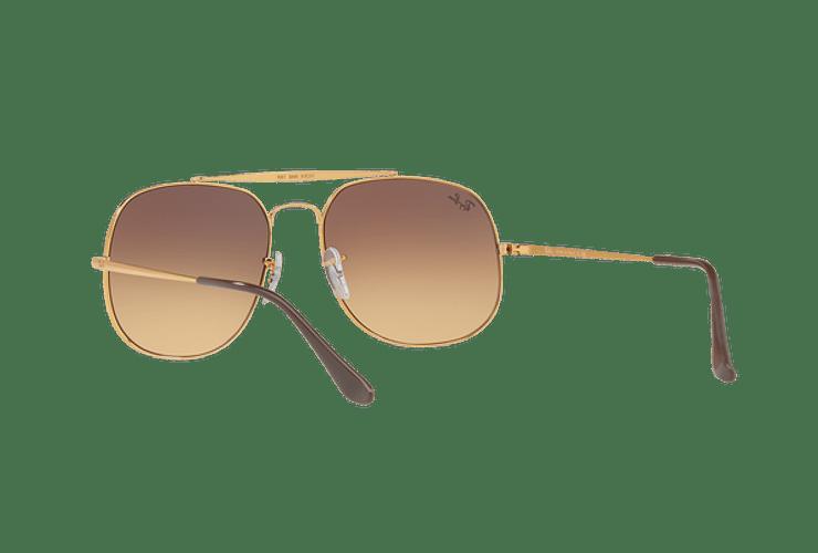 Ray Ban General Light Bronze lente Pink Gradient Brown cod. RB3561 9001A5 57 Desc30% - Image 5