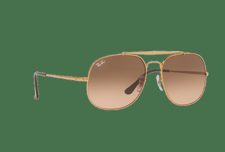 Ray Ban General Light Bronze lente Pink Gradient Brown cod. RB3561 9001A5 57 Desc30% - Image 11