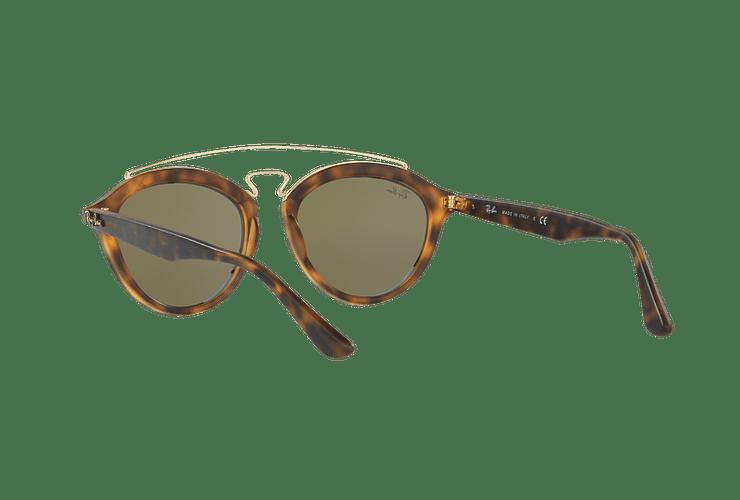 Ray Ban Gatsby II Matte Havana lente Blue Mirror cod. RB4257 609255 53 - Image 5