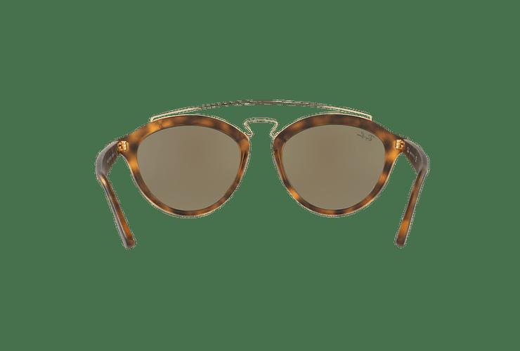 Ray Ban Gatsby II Matte Havana lente Blue Mirror cod. RB4257 609255 53 - Image 6