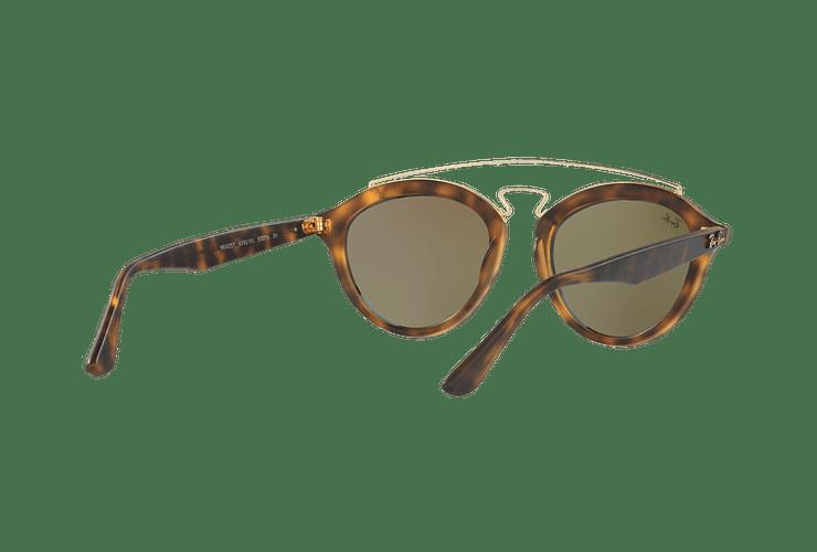 Ray Ban Gatsby II Matte Havana lente Blue Mirror cod. RB4257 609255 53 - Image 7