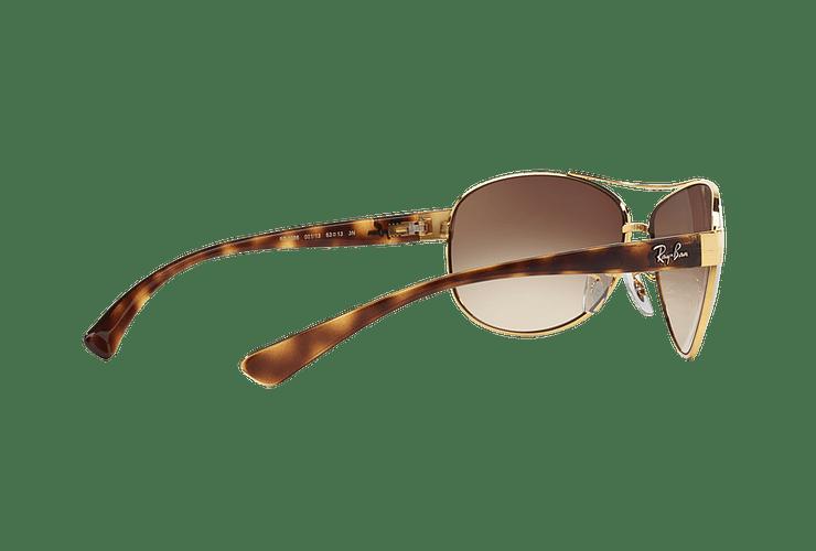 Ray Ban Aviador Ovalado RB3386 Gold lente Brown Gradient cod. RB3386 001/13 63 - Image 8