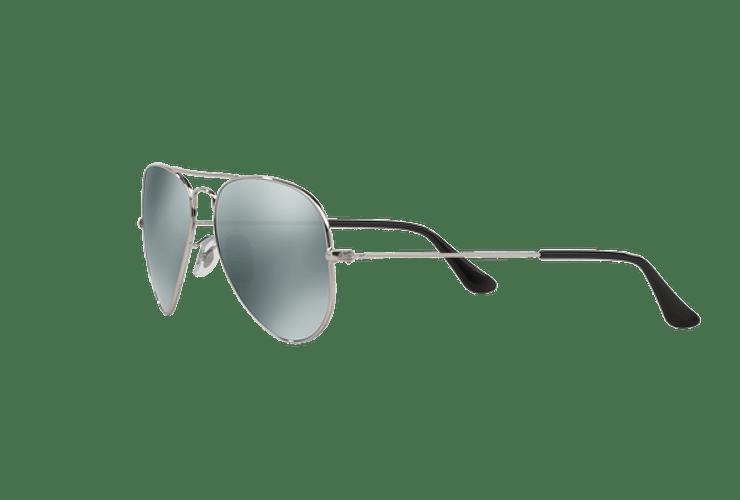 Ray Ban Aviador Silver lente Crystal Grey Mirror cod. RB3025 W3275 55 - Image 2