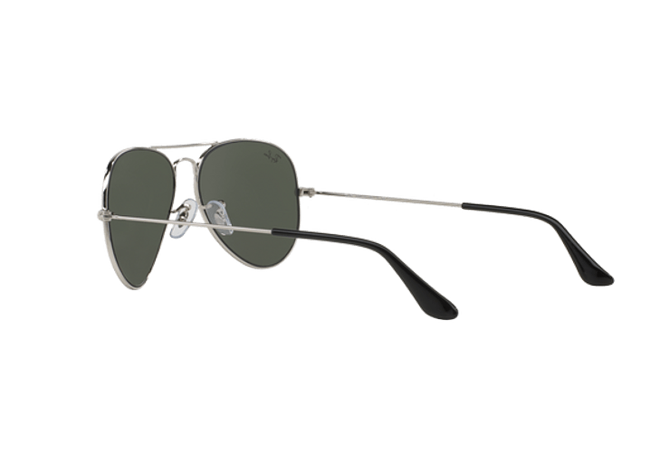 Ray Ban Aviador Silver lente Crystal Grey Mirror cod. RB3025 W3275 55 - Image 4