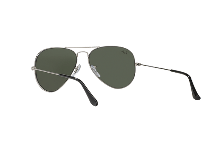 Ray Ban Aviador Silver lente Crystal Grey Mirror cod. RB3025 W3275 55 - Image 5