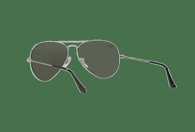 Ray Ban Aviador Silver lente Crystal Grey Mirror cod. RB3025 W3275 55 - Image 5