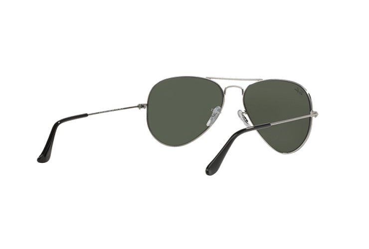 Ray Ban Aviador Silver lente Crystal Grey Mirror cod. RB3025 W3275 55 - Image 7