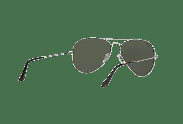 Ray Ban Aviador Silver lente Crystal Grey Mirror cod. RB3025 W3275 55 - Image 7