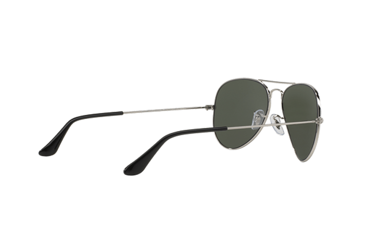 Ray Ban Aviador Silver lente Crystal Grey Mirror cod. RB3025 W3275 55 - Image 8