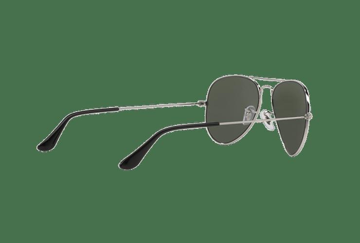 Ray Ban Aviador Silver lente Crystal Grey Mirror cod. RB3025 W3275 55 - Image 8