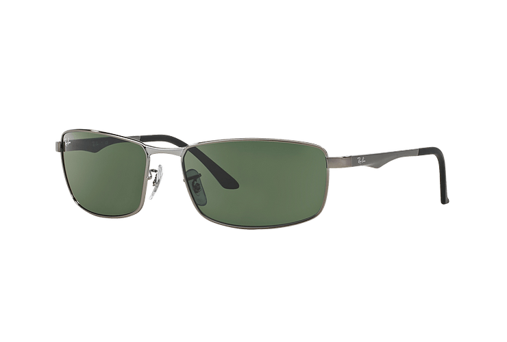 Ray Ban Active RB3498 Gunmetal lente Green cod. RB3498 004/71 61 - Image 1
