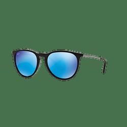 Ray Ban Erika Black lente Blue Mirror cod. RB4171 601/55 54