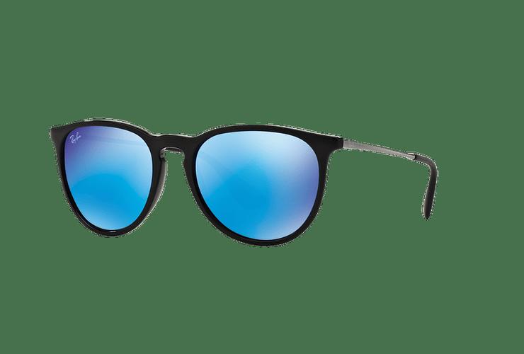 Ray Ban Erika Black lente Blue Mirror cod. RB4171 601/55 54 - Image 1