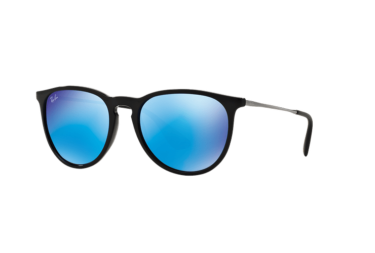 Ray Ban Erika Black lente Blue Mirror cod. RB4171 601/55 54 - Image 1