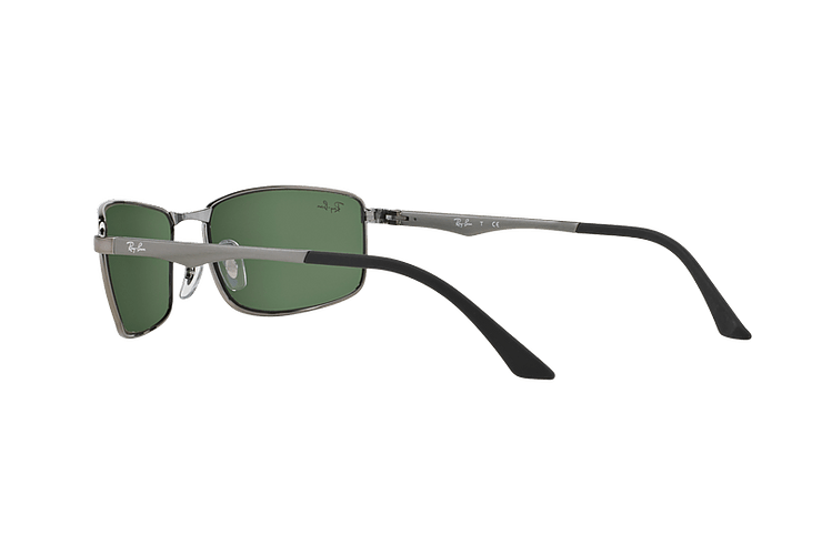 Ray Ban Active RB3498 Gunmetal lente Green cod. RB3498 004/71 61 - Image 4