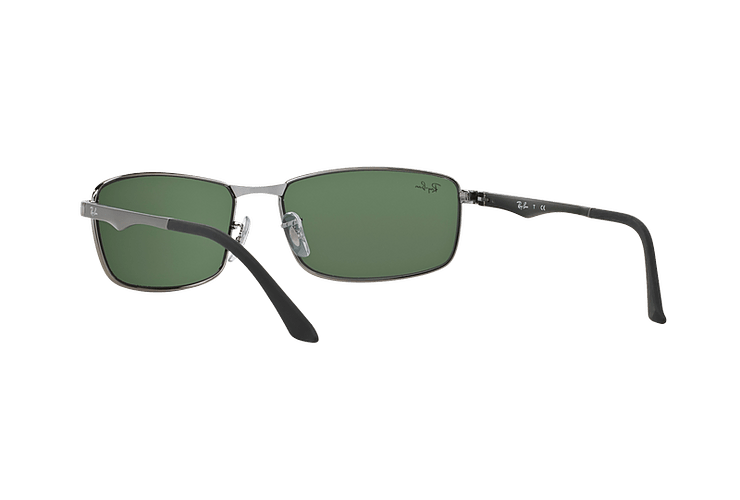 Ray Ban Active RB3498 Gunmetal lente Green cod. RB3498 004/71 61 - Image 5