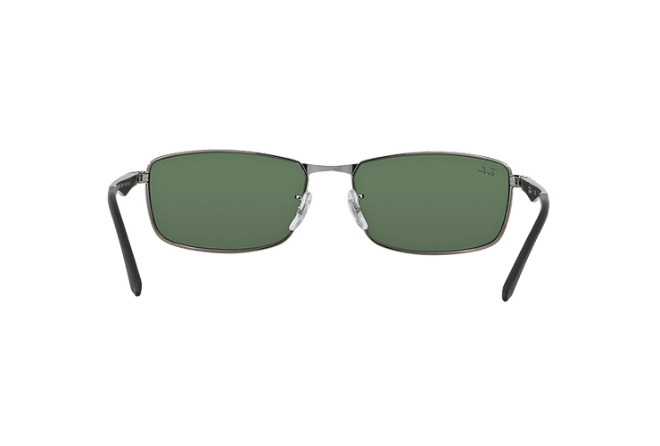 Ray Ban Active RB3498 Gunmetal lente Green cod. RB3498 004/71 61 - Image 6