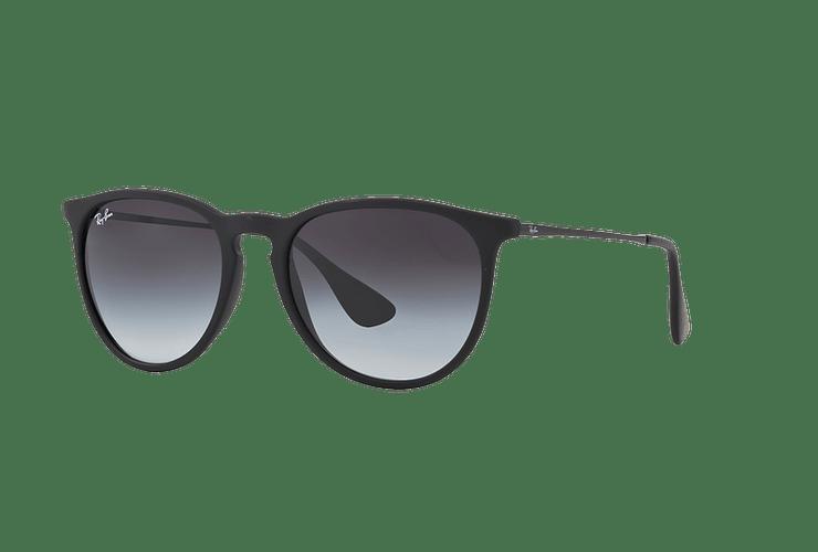 Ray Ban Erika Rubber Black lente Grey Gradient cod. RB4171 622/8G 54 - Image 1