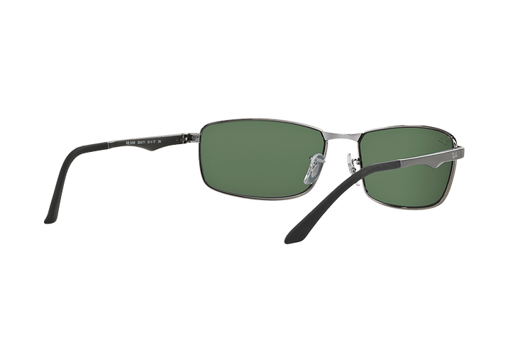 Ray Ban Active RB3498 Gunmetal lente Green cod. RB3498 004/71 61 - Image 7