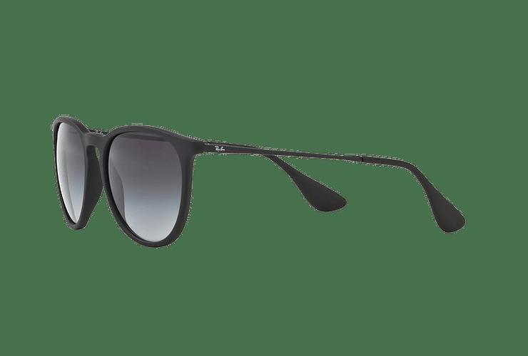 Ray Ban Erika Rubber Black lente Grey Gradient cod. RB4171 622/8G 54 - Image 2