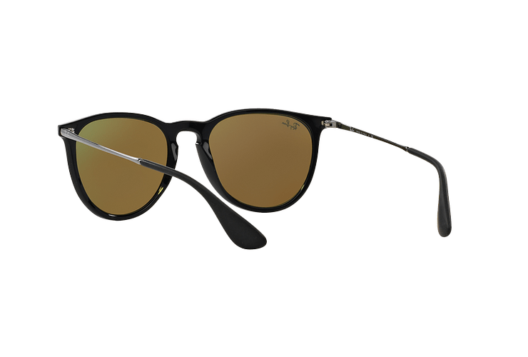 Ray Ban Erika Black lente Blue Mirror cod. RB4171 601/55 54 - Image 5