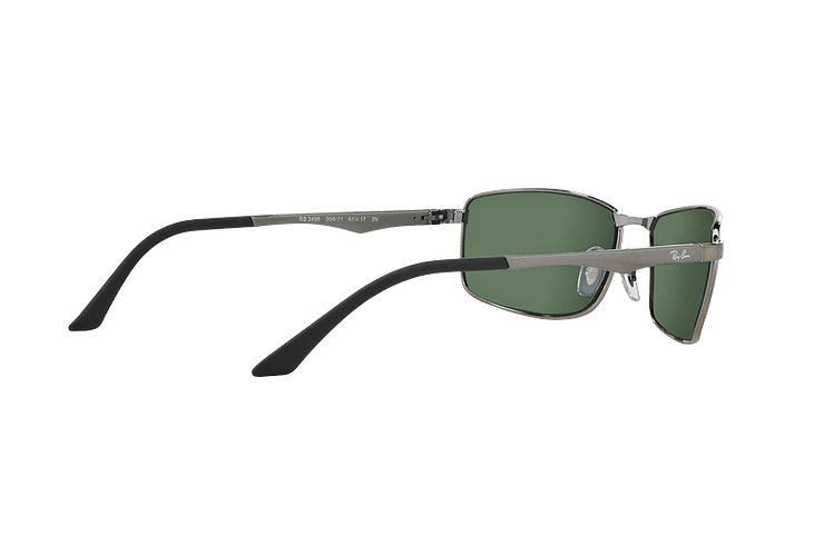 Ray Ban Active RB3498 Gunmetal lente Green cod. RB3498 004/71 61 - Image 8