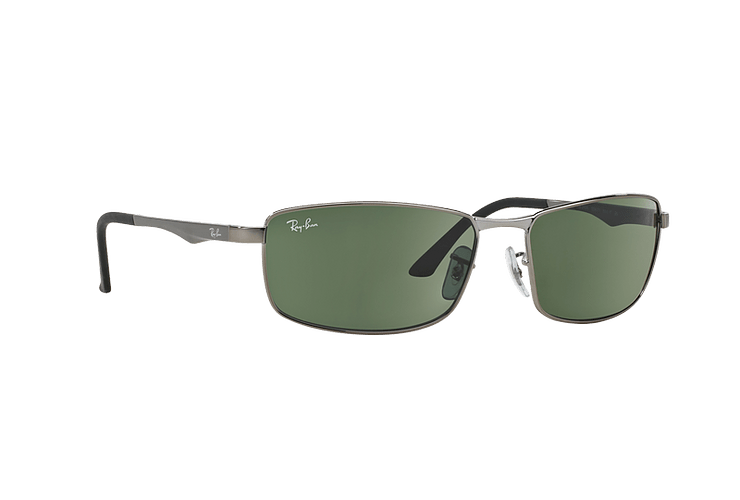 Ray Ban Active RB3498 Gunmetal lente Green cod. RB3498 004/71 61 - Image 11
