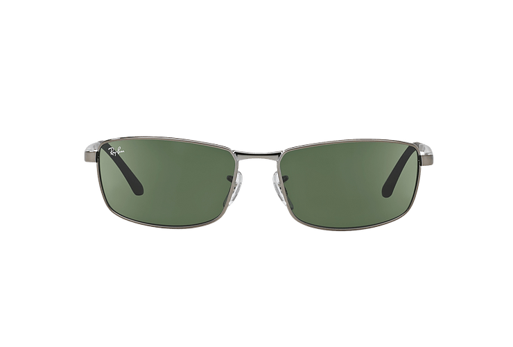 Ray Ban Active RB3498 Gunmetal lente Green cod. RB3498 004/71 61 - Image 12