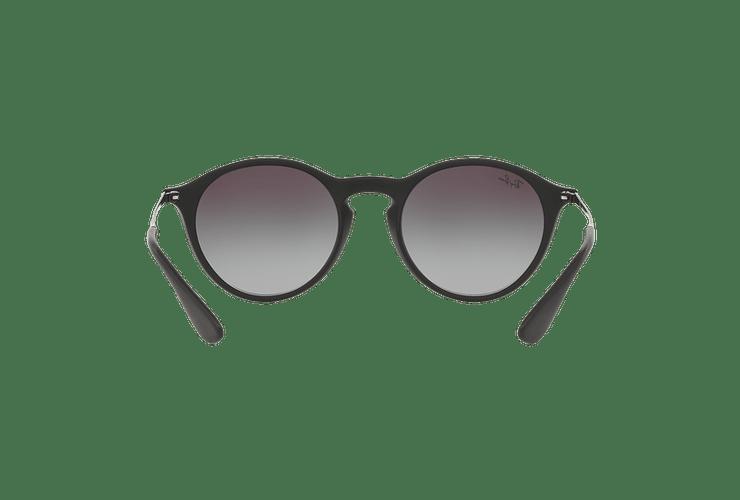 Ray Ban Round RB4243 Rubber Black lente Dark Grey Gradient cod. RB4243 622/8G 49 Desc30% - Image 6