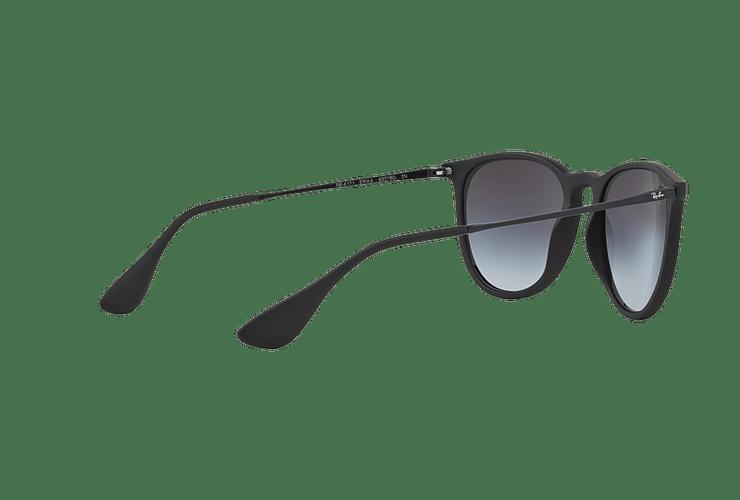 Ray Ban Erika Rubber Black lente Grey Gradient cod. RB4171 622/8G 54 - Image 8