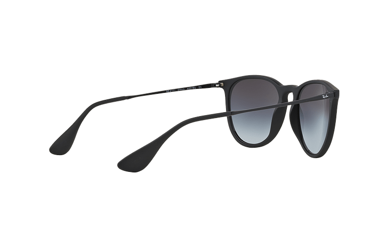 Ray Ban Erika Rubber Black lente Grey Gradient cod. RB4171 622/8G 54 - Image 8