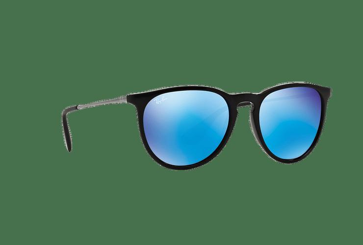 Ray Ban Erika Black lente Blue Mirror cod. RB4171 601/55 54 - Image 11