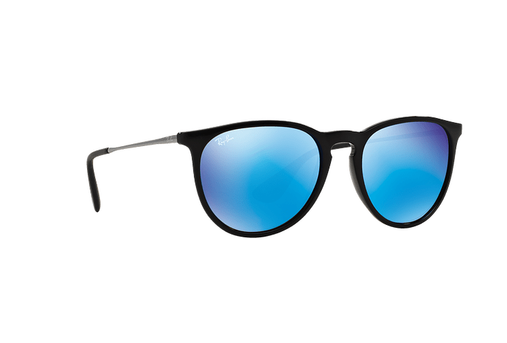 Ray Ban Erika Black lente Blue Mirror cod. RB4171 601/55 54 - Image 11