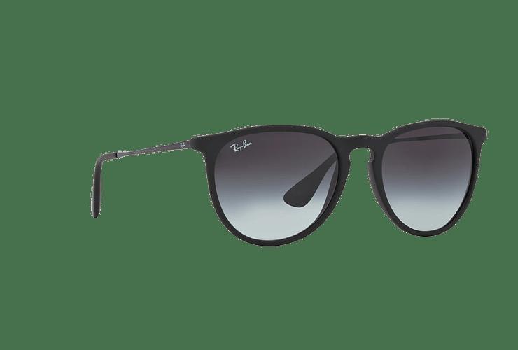 Ray Ban Erika Rubber Black lente Grey Gradient cod. RB4171 622/8G 54 - Image 11
