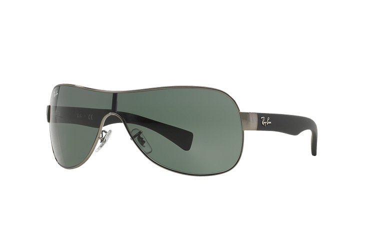 Ray Ban Monolente RB3471 Gunmetal lente Green cod. RB3471 004/71 32 - Image 1