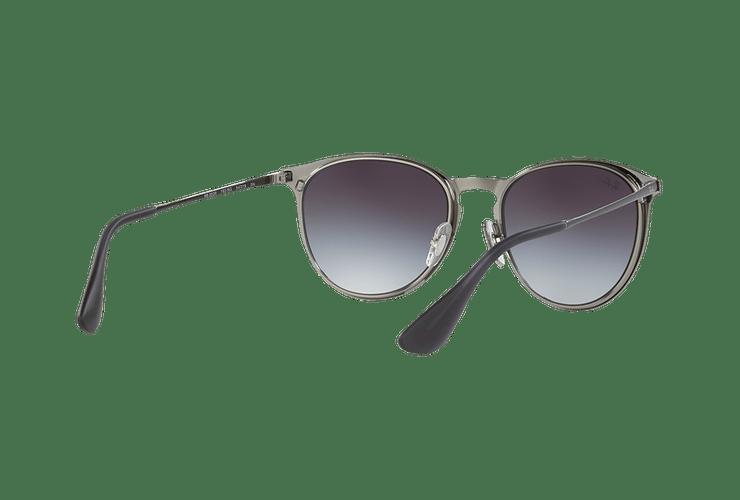 Ray Ban Erika Metal Grey Metallic lente Grey Gradient cod. RB3539 192/8G 54 - Image 7