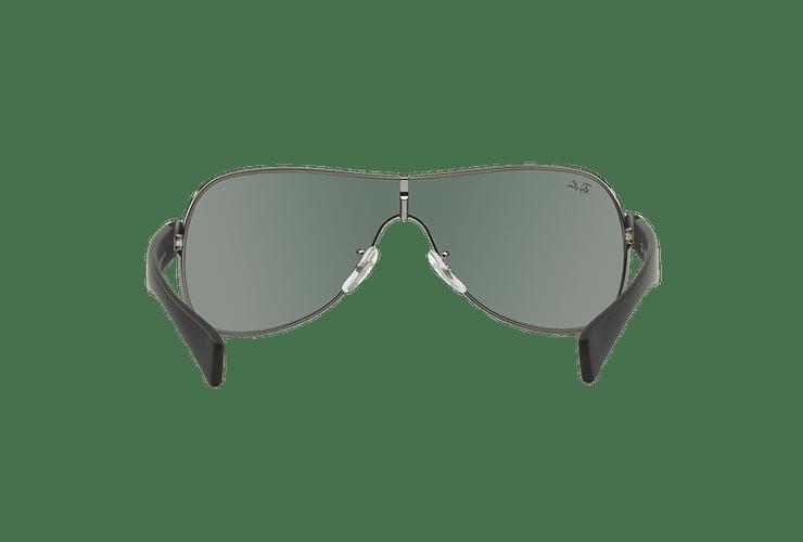 Ray Ban Monolente RB3471 Gunmetal lente Green cod. RB3471 004/71 32 - Image 6