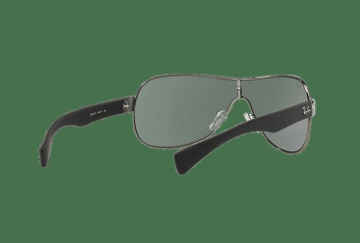 Ray Ban Monolente RB3471 Gunmetal lente Green cod. RB3471 004/71 32 - Image 7