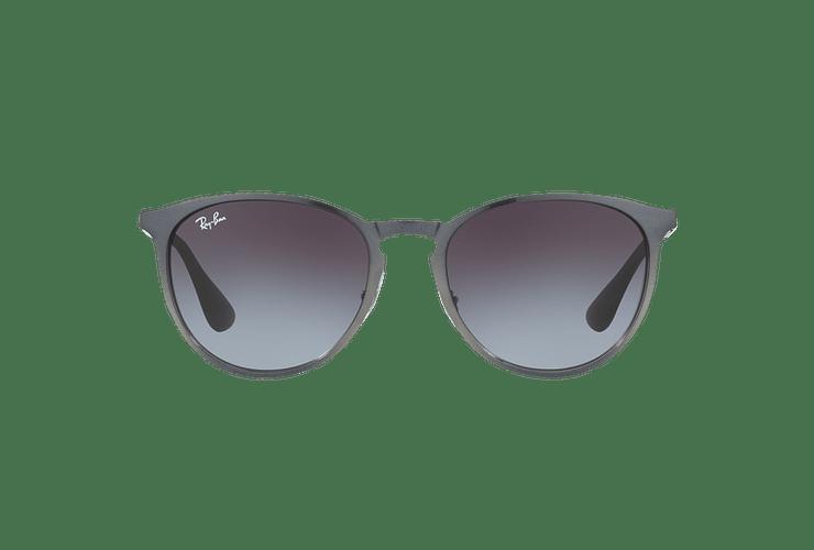 Ray Ban Erika Metal Grey Metallic lente Grey Gradient cod. RB3539 192/8G 54 - Image 12