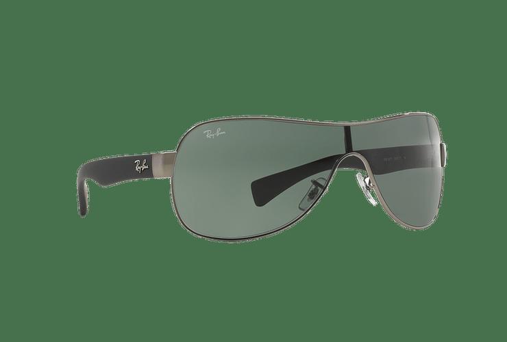 Ray Ban Monolente RB3471 Gunmetal lente Green cod. RB3471 004/71 32 - Image 11