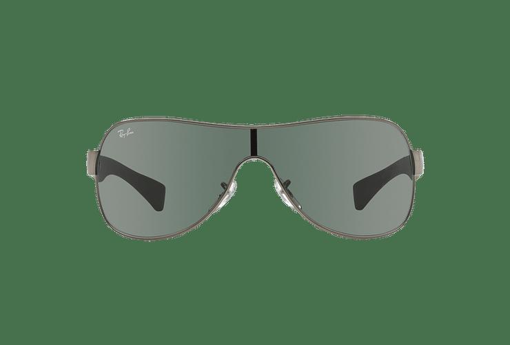 Ray Ban Monolente RB3471 Gunmetal lente Green cod. RB3471 004/71 32 - Image 12