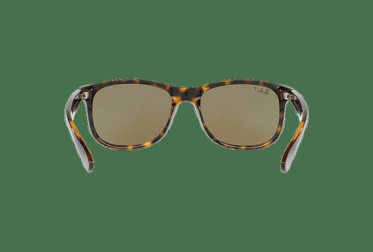 Ray Ban Andy Shiny Havana lente Blue / Green Mirror Polarized cod. RB4202 710/9R 55 - Image 6