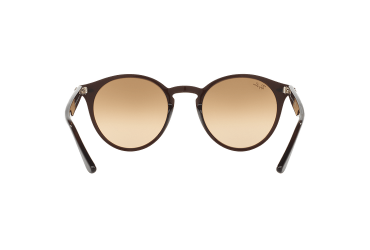 Ray Ban Round RB2180 Opal Brown lente Brown / Silver Mirror Gradient cod. RB2180 62313D 51 - Image 6