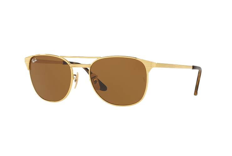Ray Ban Signet Gold lente Brown cod. RB3429M 001/33 55 - Image 1