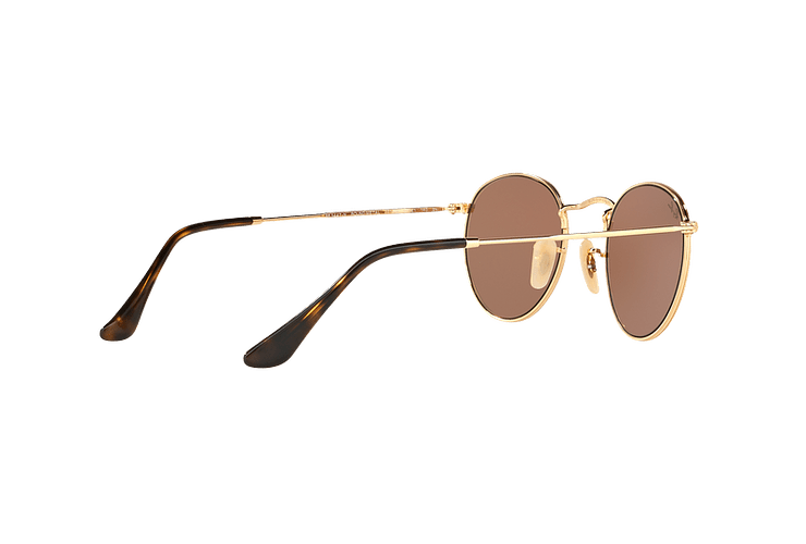 Ray Ban Round Metal Shiny Gold lente Copper Flash cod. RB3447N 001/Z2 50 - Image 8