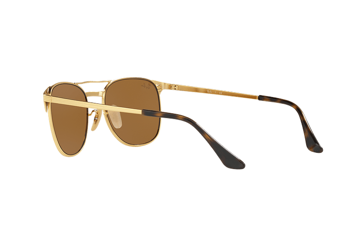 Ray Ban Signet Gold lente Brown cod. RB3429M 001/33 55 - Image 4