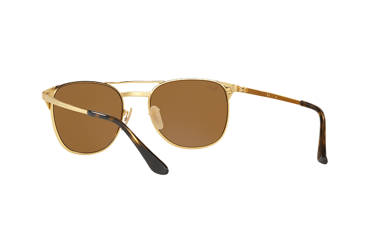 Ray Ban Signet Gold lente Brown cod. RB3429M 001/33 55 - Image 5