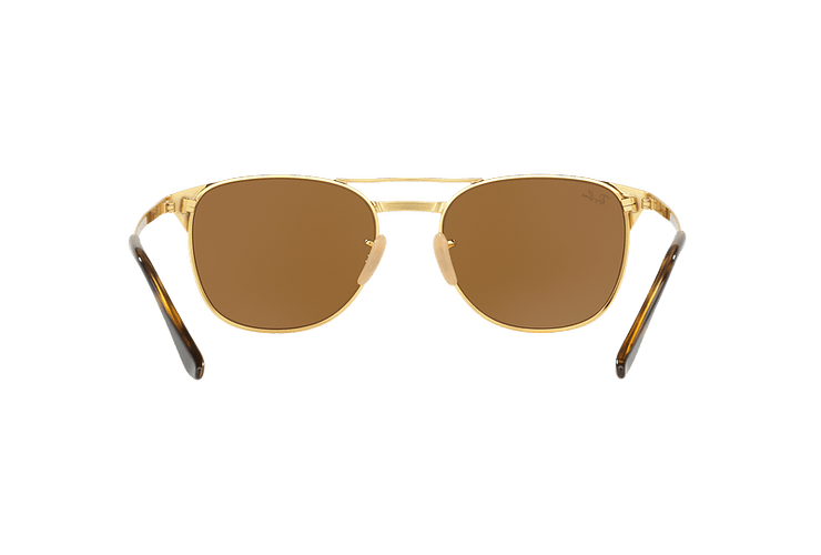 Ray Ban Signet Gold lente Brown cod. RB3429M 001/33 55 - Image 6